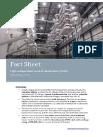 Factsheet Hvdc e