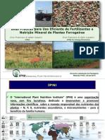 Boas Praticas Uso Fertilizantes Em Pastagens - Eros Francisco