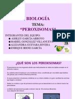 Microsoft PowerPoint Exposicion de Peroxisomas
