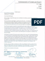 Cumberland County commissioners' letter to Pa. auditor general