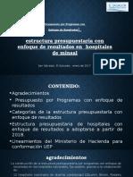 Presentación Ppr 2018 Hospitales, Gloria Rubio Ues Dirplan, 23 de Enero de 2017