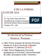 Dr. Javier Piqué Del Pozo - Alcances de La Norma E-30
