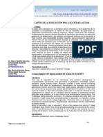 Dialnet-DesafiosDeLaEducacionEnLaSociedadActual-4156179