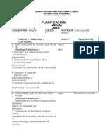 Plan Anual Religion Septimos Basicos