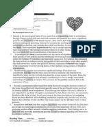 WEEK 1 KWL READING Ex. the Neurological Basis of Love
