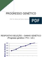 Progresso Genético - Melhoramento Animal