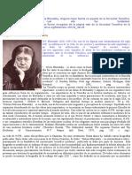 En Cuanto a La Biografía de Madame Blavatsky