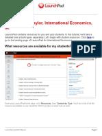 Feenstra and Taylor International Economics 3e