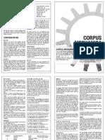 Corpus Regles
