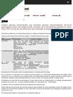 PhpDocumentor Documentacion Para Codigo PHP