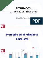Consolidado 2015 Filial Lima