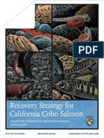 2004 Recovery Strategy for CA Coho Salmon