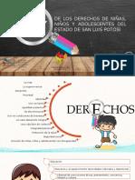 LEY de Los Derechos de Niñas Niños y Adolescentes de San Luis Potosi