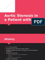 Aortic Stenosis in a Patient With CLL