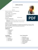 Curriculum Vitae Lina Torres Onton