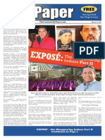 The Paper of March 9, 2017  EXPOSE of PECHANGA