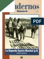 La Segunda Guerra Mundial (y 3)