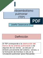 Tromboembolismo Pulmonar Presentacion Mejorada