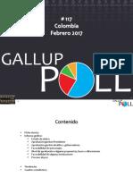 GALLUP POLL - Colombia - Febrero 2017