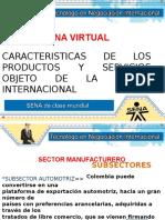 Evidencia 1 Caracteristicas de Los Productos y Servicios Objeto de La Oferta Internacional