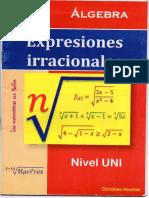 Expresiones Irracionales Christiam Huertas