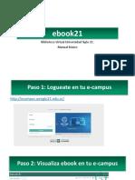 Ebook21 Tutorial
