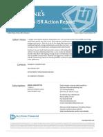 2016 ISR Action Report