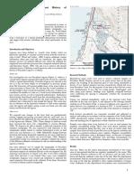 2005 Reconstructing the Sediment History of the Pescadero Lagoon