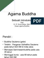 Introduksi Agama Buddha