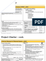 Project Charter - CRFQ Pilot