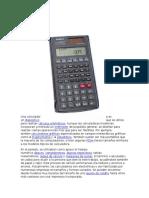 Calculadora y Contometro