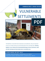 Vulnerable Settlements - A Ridge to River Guide