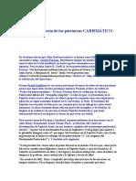 EL Charlatanería de Los Patriarcas CARISMÁTICO