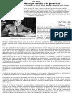 Jorge Basadre - Mensaje a La Juventud