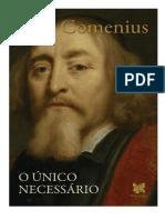 A Única Coisa Necessária - Comenius
