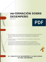Información Sobre Desempeño