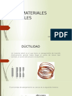 6.4 Materiales Ductiles