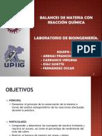 Seminario - Balances de Materia Con Reaccion Quimica (1)