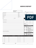 Service Report No Logo