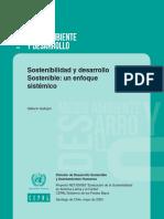 Sostenibilidad y desarrollo Sostenible