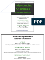 Understanding Anesthesia - McMaster