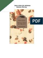 Minha Vida de Menina Helena Morley - PDF