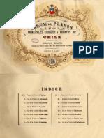 Planos de Ciudades de Chile 1896