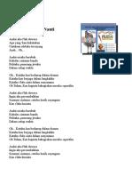 Lirik Lagu Wajib FLS2N SD 2017