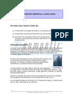 Contaminación Ambiental, Lluvia Ácida