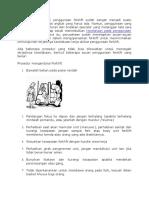 Peraturan Dasar Keselamatan Forklift