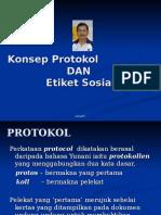 Konsep Protokol Dan Etiket Sosial