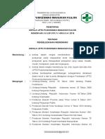 2.3.9.2 14 SP Pendelegasian Wewenang  Puskesmas Manukan Kulon beserta uraian tugas dan wewenang Fix
