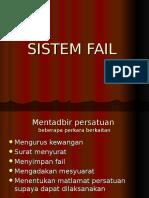 Tajuk 3 Sistem Fail