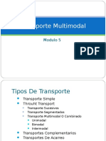 Modulo 6 Transporte Multimodal